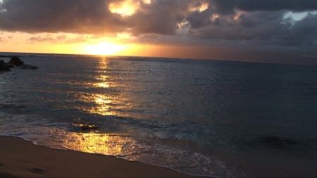 Kapalua Beach Sunset Maui Hawaii